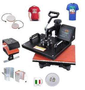5 in 1 Heat Press, Multifunction Heat Press