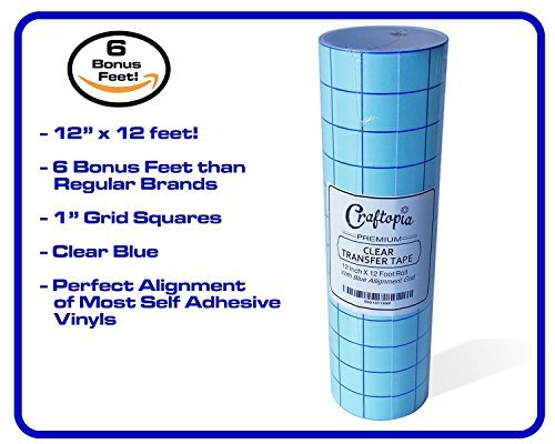 "2 Rolls 6/"" x 300 ft  Application Transfer Tape Vinyl Signs R TAPE  Clear at 65"